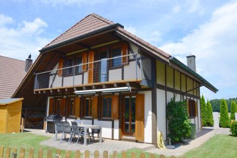 Verkauft: 4.5 - Zi. Einfamilienhaus in 3373 Röthenbach b. Herzogenbuchsee: Landidylle pur!