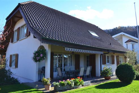 Verkauft: 8.5 - Zi. Einfamilienhaus in 4806 Wikon: Das sonnige Plätzchen in Wikon