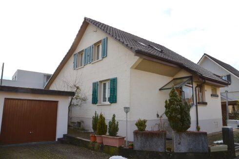 Verkauft: 5.5 - Zi. Einfamilienhaus in 4665 Oftringen: Das charmante Haus an zentraler Lage