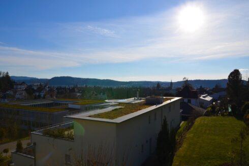 Verkauft: 5.5 - Zi. Terrassenhaus in 4800 Zofingen: Terrassenhaus am Rebberg mit sensationeller Sicht