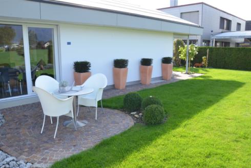 Verkauft: 6.5 - Zi. Einfamilienhaus in 4624 Härkingen: Wohnen mit Blick auf den Jura