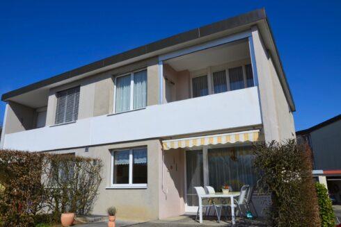 Verkauft: 4.5 - Zi. Doppeleinfamilienhaus in 4614 Hägendorf: Ein bezauberndes Zuhause
