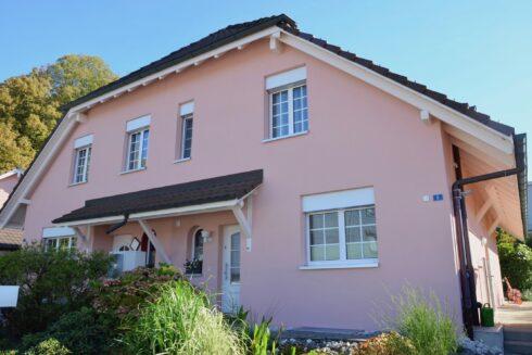 Verkauft: 4.5 - Zi. Doppeleinfamilienhaus in 4656 Starrkirch-Wil: Das gemütliche Eigenheim am Waldrand