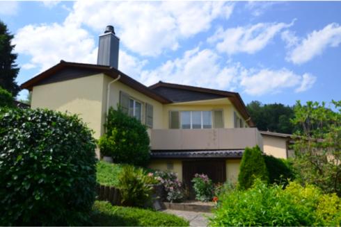 Verkauft: 5.5 - Zi. Einfamilienhaus in 4802 Strengelbach: Eigenheim im Grünen mit viel Privatsphäre