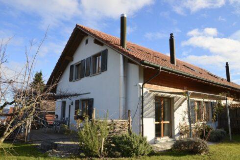 Verkauft: 5.5 - Zi. Einfamilienhaus in 5712 Beinwil am See: Ihr eigenes Paradies mit Seeblick