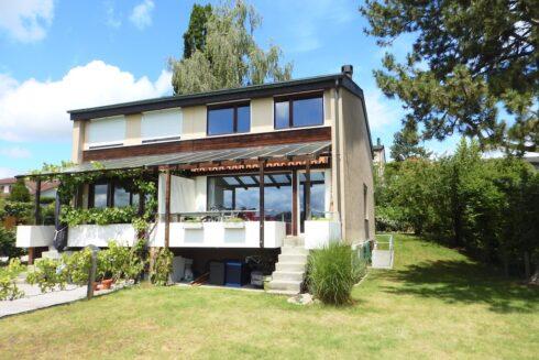 Verkauft: 5.5 - Zi. Einfamilienhaus in 3043 Uettligen: Idyllische Lage mit herrlichem Alpenblick