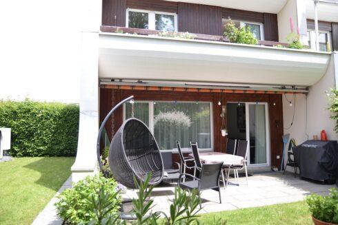 Verkauft: 4.5 - Zi. Einfamilienhaus in 4800 Zofingen: Reiheneckhaus mit idyllischem Garten