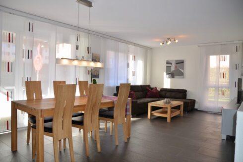 Verkauft: 5.5 - Zi. Wohnung in 4800 Zofingen: Ruhe, Komfort, Eleganz: Gartenmaisonette-Wohnung