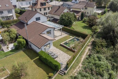 Verkauft: 5.5 - Zi. Einfamilienhaus in 4805 Brittnau: Sonniges Schmuckstück direkt an der Wigger