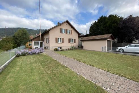 Verkauft: 5 Zi. Einfamilienhaus  in 4852 Rothrist: Freistehendes Einfamilienhaus mit viel Potential