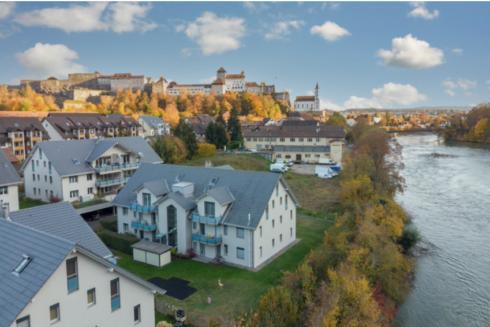 Verkauft: 5.5 - Zi. Wohnung in 4663 Aarburg: Einmaliges Wohngefühl direkt an der Aare!