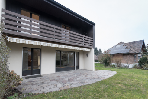 Verkauft: 5.5 - Zi. Doppeleinfamilienhaus in 4800 Zofingen: Stadtnahes Wohnen in Zofingen