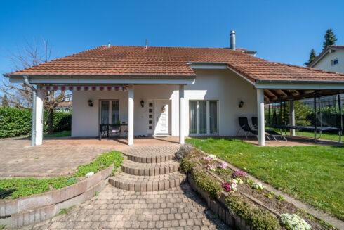 Verkauft: 5.5 Zimmer Einfamilienhaus in 4900 Langenthal : Ferienfeeling an zentraler Lage