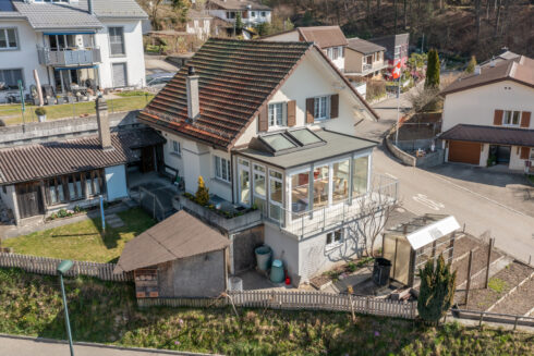 Verkauft: 5 Zimmer Einfamilienhaus in 4800 Mühlethal: Sonnentraum im Mühlethal