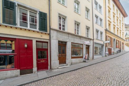 Verkauft: Mehrfamilienhaus in 4500 Solothurn: Mehrfamilienhaus mitten in der Altstadt